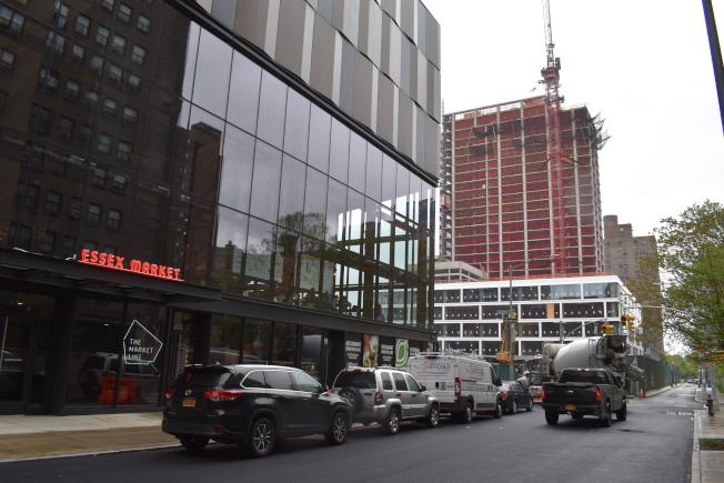 曼哈頓下東城為近年來紐約市成長最快速的社區之一。(記者顏嘉瑩/攝影)