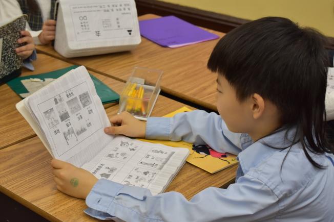 近年愈來愈多家長將孩子送往雙語學校,希望增加孩子未來競爭力。(記者顏嘉瑩╱攝影)