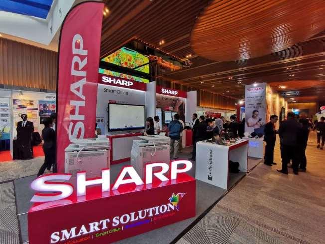 鴻海旗下的夏普(Sharp)。夏普提供