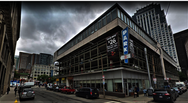 波士頓華埠停車場 擬變身24層辦公大樓