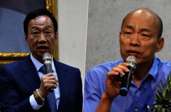 國民黨的總統候選人郭台銘在台灣的支持率,直逼以往聲勢高居不下的韓國瑜,南加藍營人士認為,韓流確有退潮現象。(聯合新聞網)