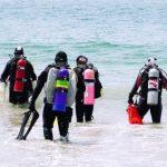守護海洋 華人潛水撿垃圾