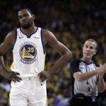 NBA/杜蘭特腿傷未癒 趕不及總冠軍賽首戰