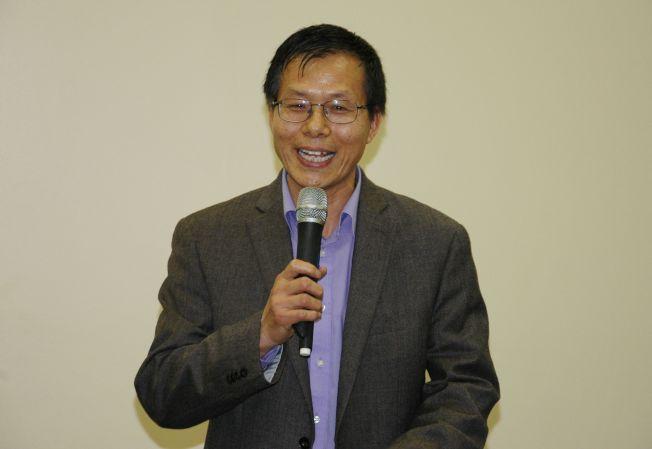 芝北中文中心孫彥釗校長表示希望比賽能夠把中華文化傳播得更遠。