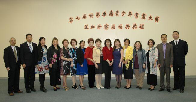 主辦方代表與贊助商及眾來賓合照。