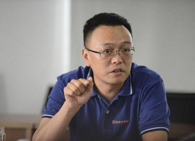 貴州茅台集團電子商務股份有限公司董事長聶永。( 取材自人民網 )
