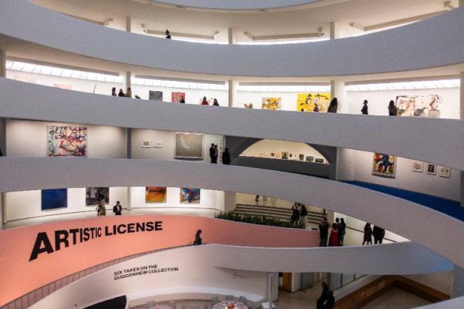 古根漢美術館「藝術執照:古根漢收藏六面觀」24日起開展。(蔡國強工作室提供)