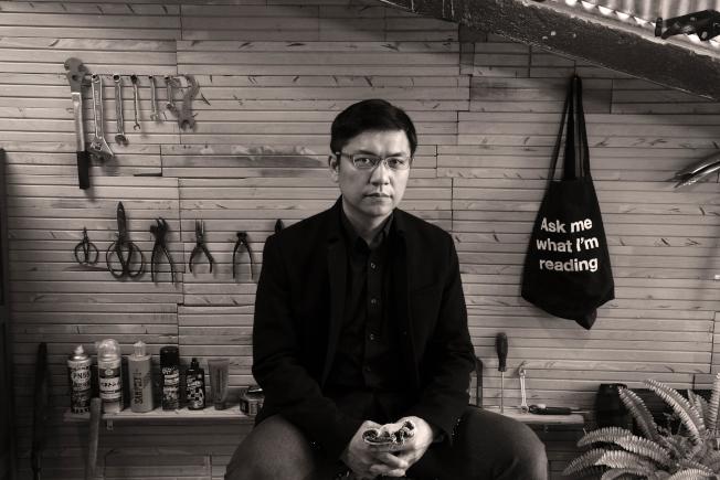 台灣作家吳明益以「單車失竊記」一書,受邀參加2019「世界之聲文藝節」。(紐文中心提供)