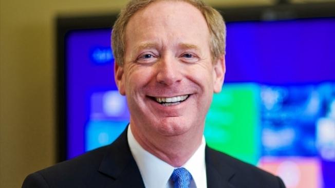 被認為最適合做臉書執行長的史密斯(Brad Smith)是微軟現任總裁。(Getty Images)