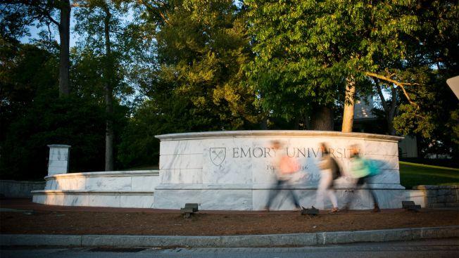 遭愛默蕾大學解雇的華裔遺傳學者出面反駁校方說法,圖為愛默蕾校園。(愛默蕾大學)