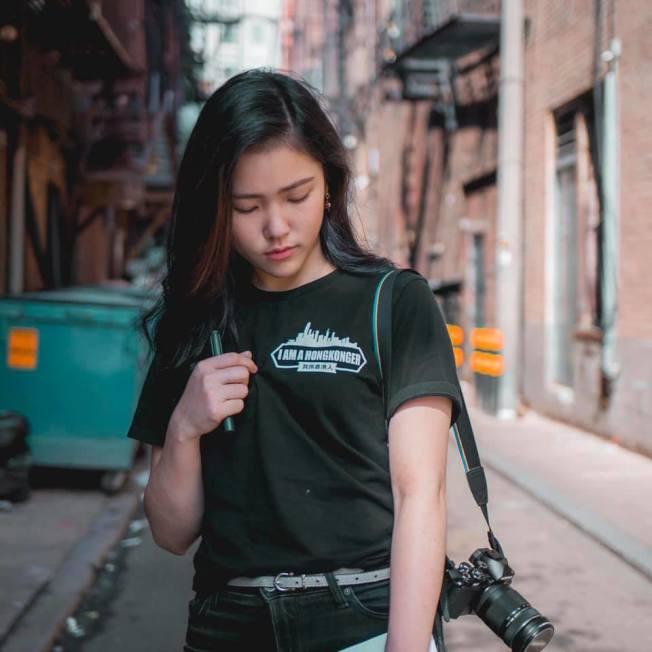 許穎婷接受華郵專訪,她在文章中談香港身分認同,遭中國學生反彈。(圖片取自臉書)