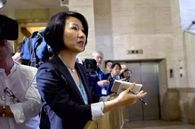 劉欣1993年考取南京大學外國語學院英語系,畢業後進入央視國際頻道工作。 圖/取自微博