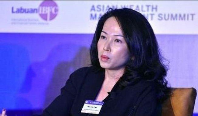 瑞銀亞太區投資總監辦公室主管陳敏蘭。網路照片