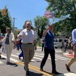 白石鎮國殤日遊行 二戰老兵領隊