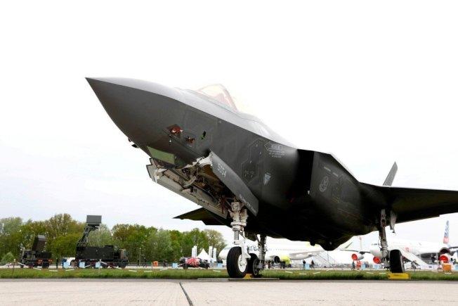 美軍F-35匿蹤戰機。路透