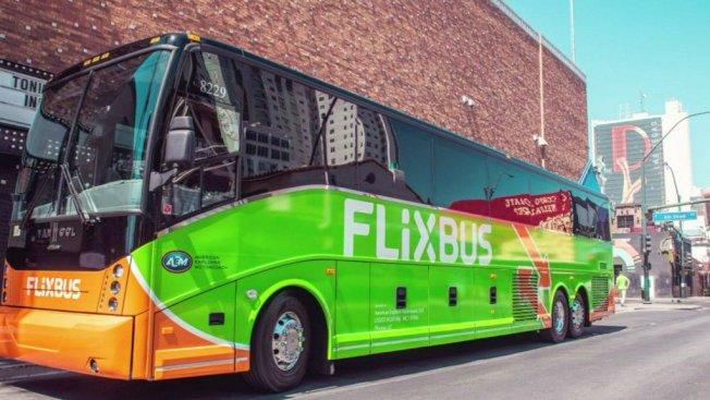 """德国巴士公司""""FlixBus""""将于30日推出来往曼哈顿和华盛顿特区的巴士线,6月提供5元优惠票价,前提是乘客必须在6月10日前预订。(取自推特)"""