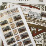 太平洋鐵路通車150年 美國郵政推3款紀念郵票