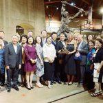 加州鐵路博物館晚會表彰華工貢獻