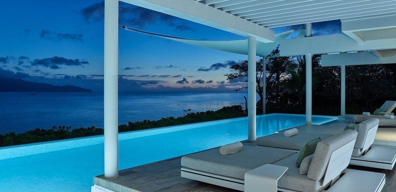 巴瓦渡假村為世界級的夢幻度假天堂。圖擷自/Banwa Private Island