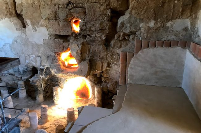 羅馬熱浴室。