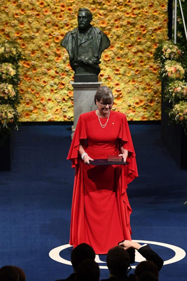 唐娜.史崔克蘭是獲得諾貝爾物理學獎的第三位女性科學家。(Getty Images)