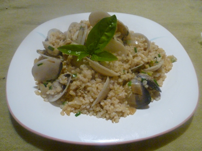 義大利蛤蜊燉飯