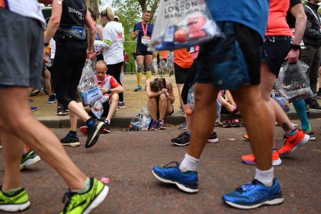 跑馬拉松,穿的鞋子很重要。(Getty Images)