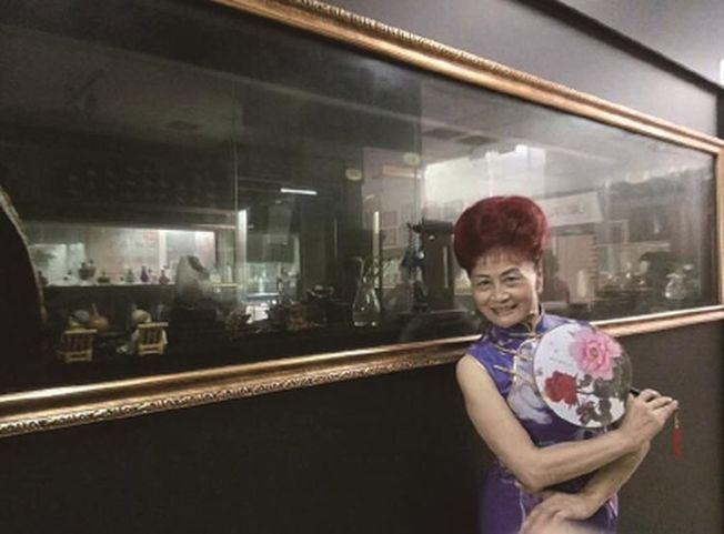 店裡一批阿姨媽媽級的老客戶對於高聳蓬勃的髮型情有獨鍾。(取材自新聞晨報)