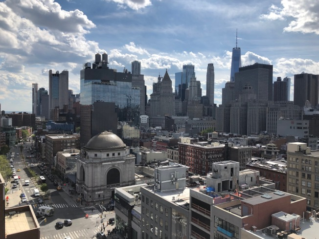 「紐約市住房與街區咨文」顯示,下東城貴族化嚴重。(記者洪群超/攝影)