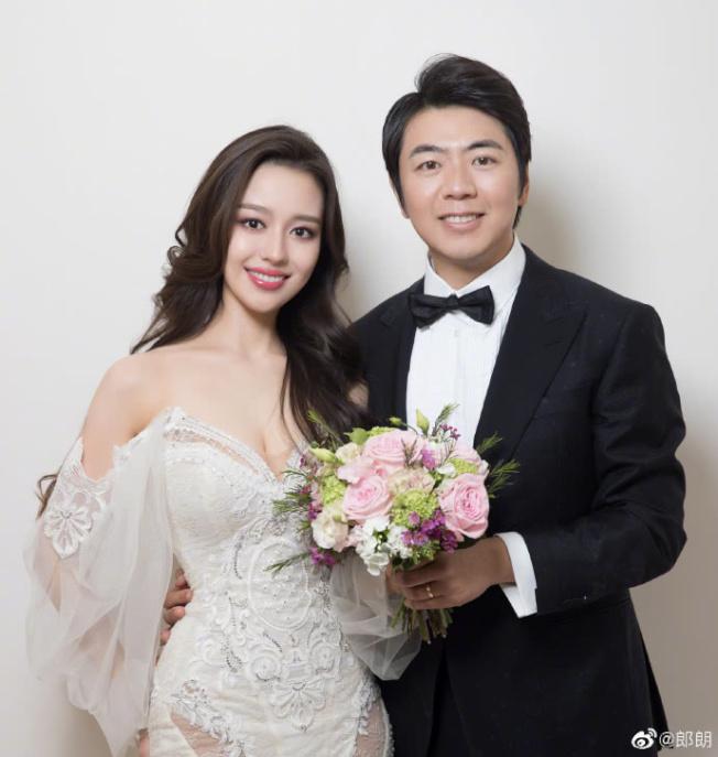 郎朗公布結婚照。取自郎朗微博