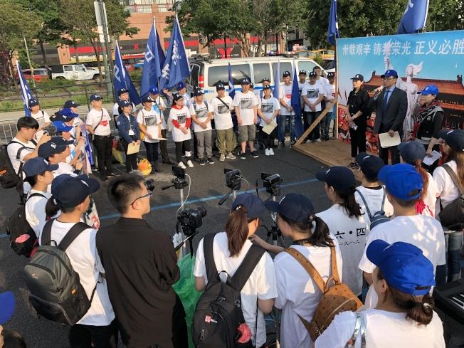 六四事件至今屆滿30周年,由中國民主黨、北京之春、中國民主團結聯盟、民主中國陣線等組織聯合舉辦的「大紐約地區紀念六四民主運動30周年燭光晚會」,於2日在曼哈頓中城舉行。(記者顏嘉瑩/攝影)