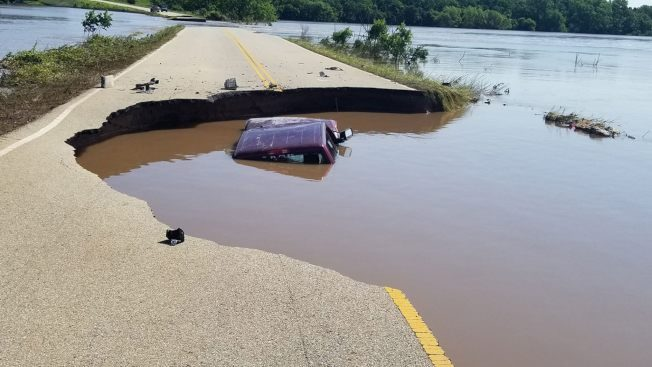 美國中部洪患才過 本周又拉警報
