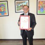 熱心社區服務 91歲林挺光獲洛杉磯縣政委員表揚