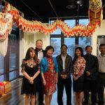 聖地牙哥史博館展「中國龍」 舞獅揭幕