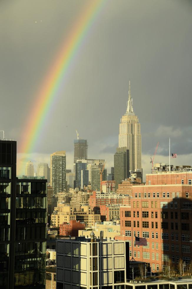紐約市5月份的一臥室公寓月租中位數是2980元,至少是三年來最高。(Getty Images)