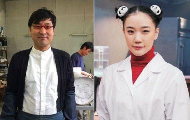 蒼井優(右)和山里亮太(左)結婚了。(取材自微博)