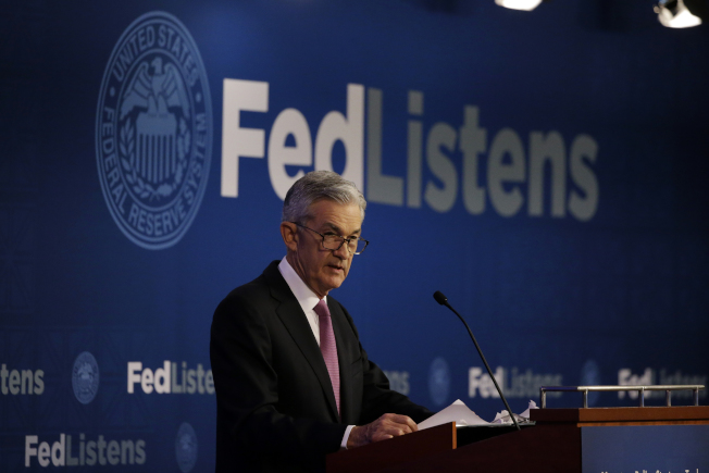 投資人對聯準會(Fed)將降息以重燃受貿易戰傷害的經濟信心增強,股市5日表現繼續強勁。(美聯社)