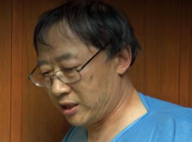 嫌犯孫宏彥。(CBS電視台截圖)