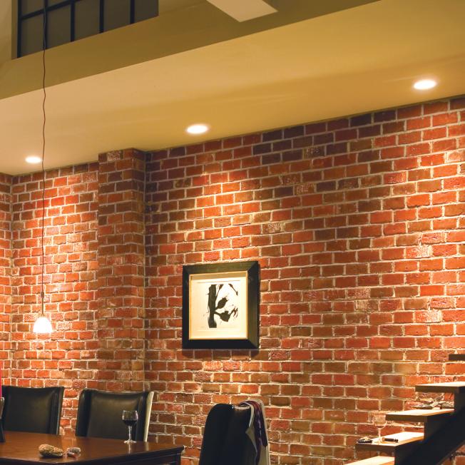 通常小角度的射燈,可以用來照射牆面以反光。(取自於Lowes官網)