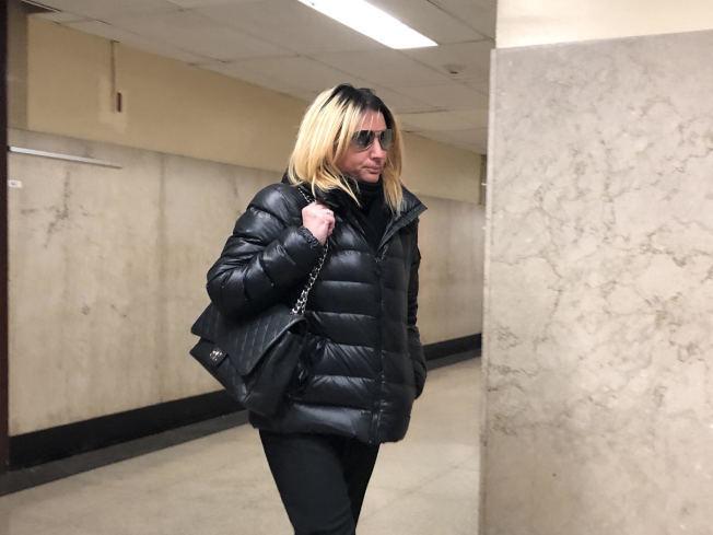 白人女律師地鐵辱華案5日在州高等法院審理。(本報檔案照)