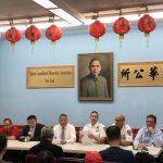華埠竊案增 交通問題多 五分局警民會檢討