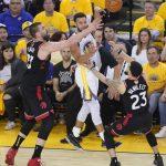 NBA總冠軍賽G3╱柯瑞轟新47分難救勇士 暴龍客場奪勝