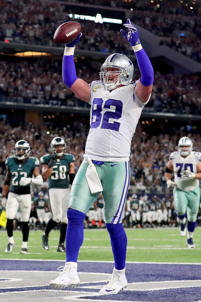 威頓是NFL史上優秀邊鋒之一。(Getty Images)