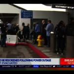 大停電行李重檢 影響LAX 40餘航班