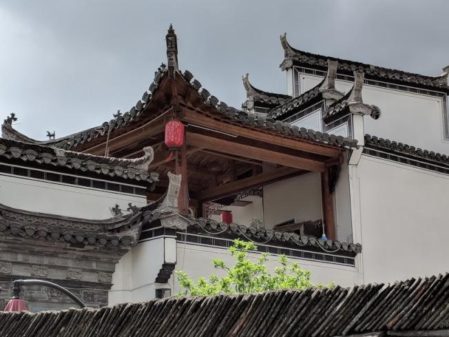 徽系的建築。