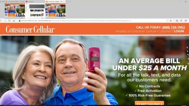 Consumer Cellular 是ACSI 調查中評價最高的手機服務公司 。(取自YouTube)