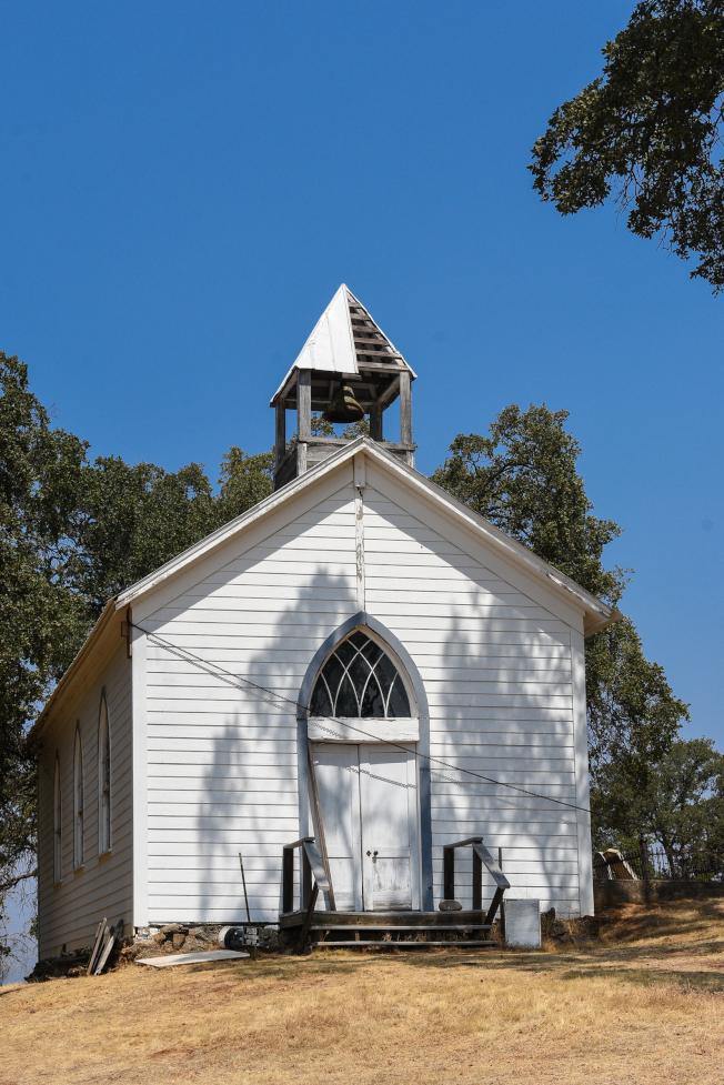 建於1854年的St. Francis Xavier教堂,是中國營為數極少的地標之一,現已荒廢。
