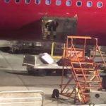 搬運工亂丟行李 阿拉斯加航空道歉