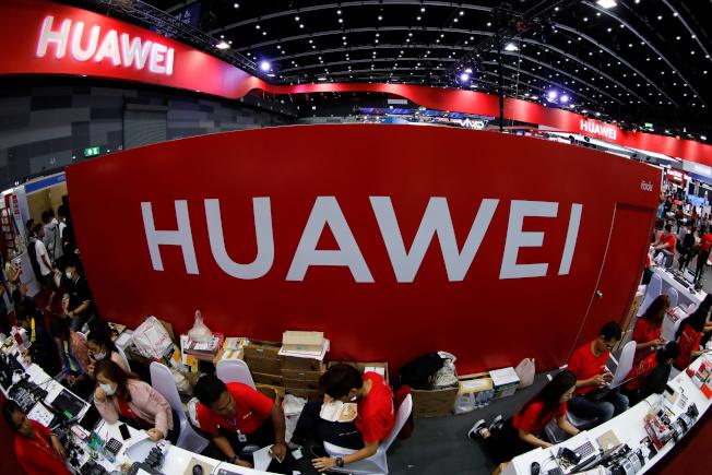 美國針對華為等中國企業發出禁令之後,中國最近也在推出自己的反制措施。(路透)