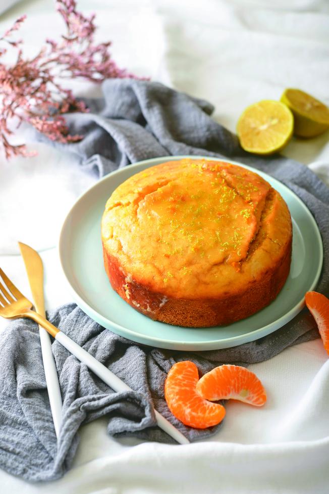 老奶奶柑橘蛋糕。(圖:帕斯頓數位多媒體有限公司提供)